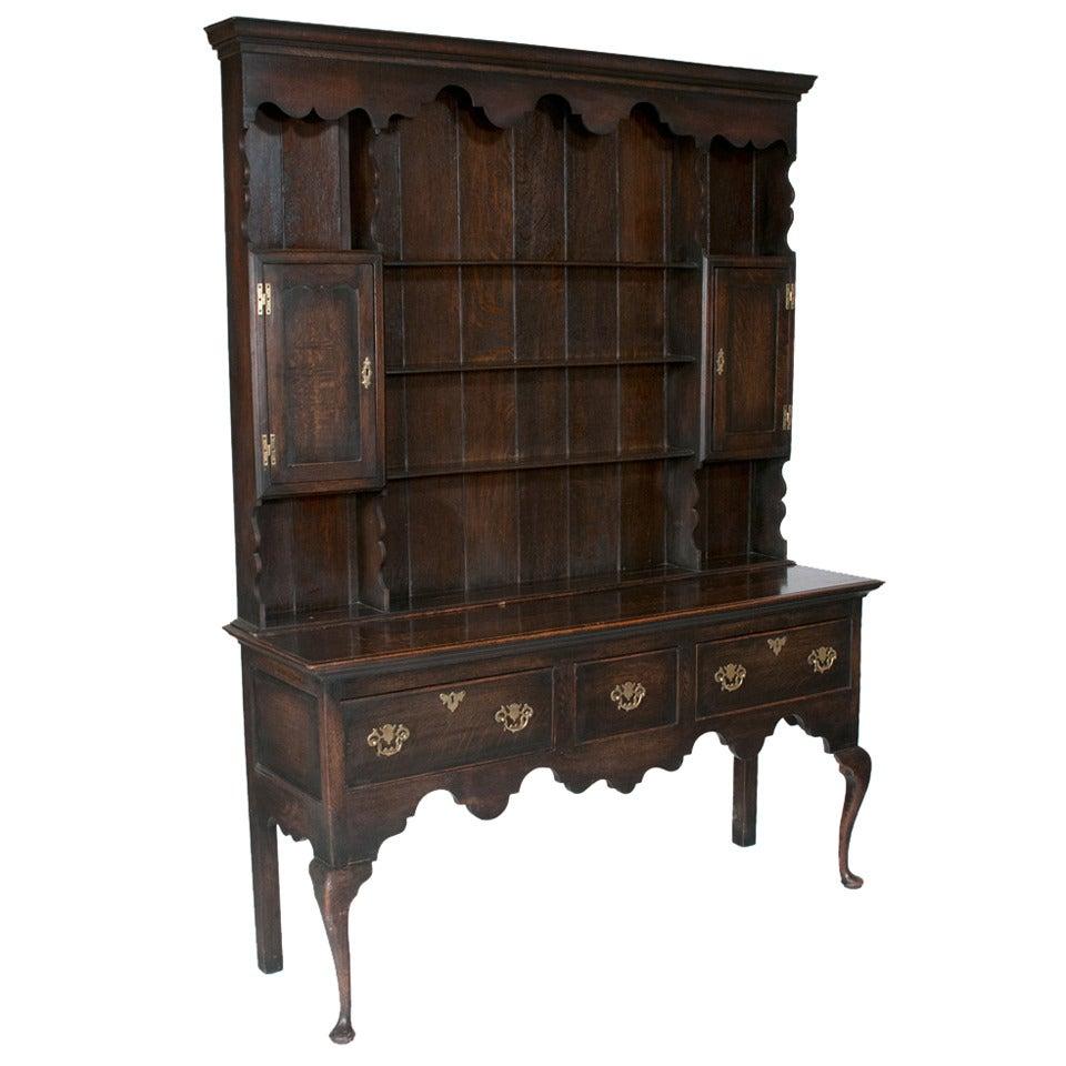 Welsh Queen Anne Dresser For Sale