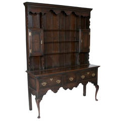 Welsh Queen Anne Dresser