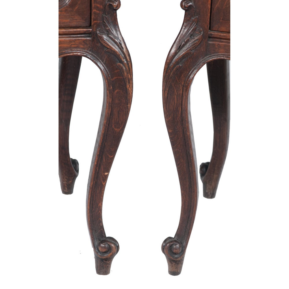 Pair of Country French Side Tables For Sale 6