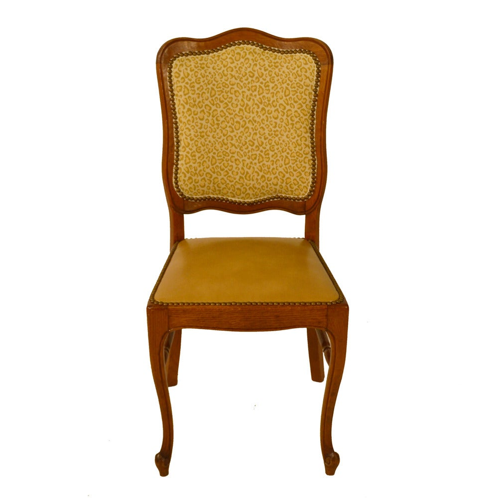 Set of Six Country French Dining Chairs at 1stdibs