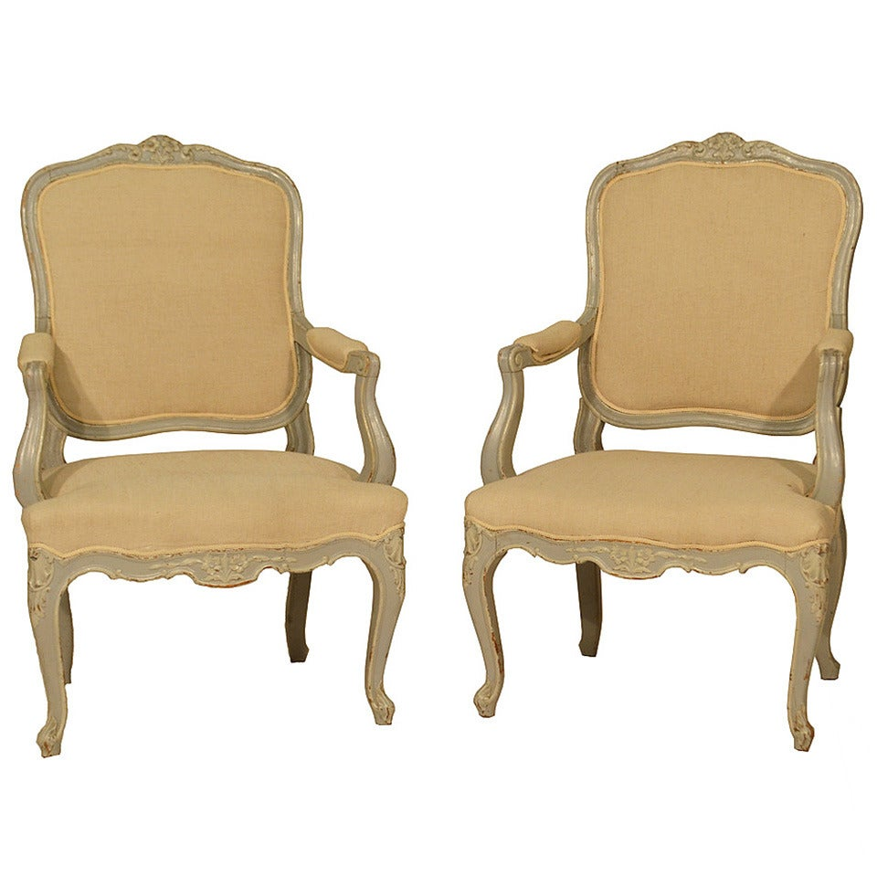 louis xv fauteuils at 1stdibs. Black Bedroom Furniture Sets. Home Design Ideas