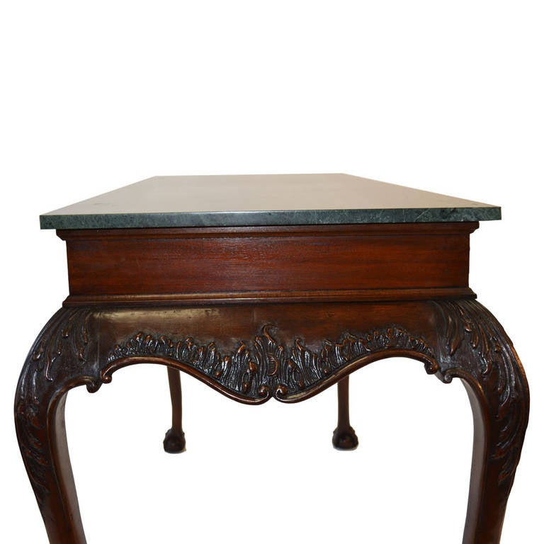Pair of irish chippendale console tables at 1stdibs for Sofa table ireland