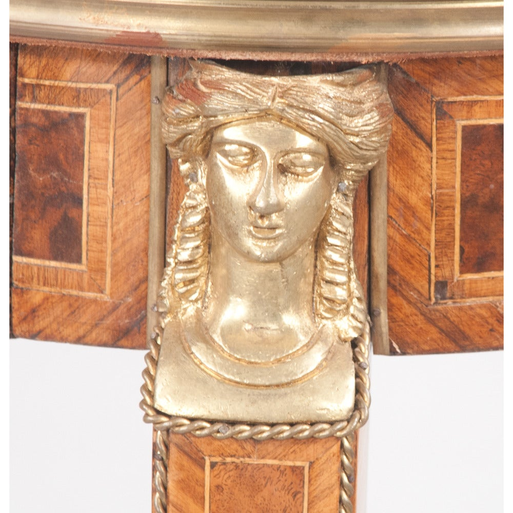 French Empire-style Pedestals, Pair For Sale 2