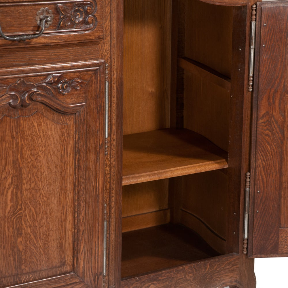Country French Oak Buffet For Sale 2