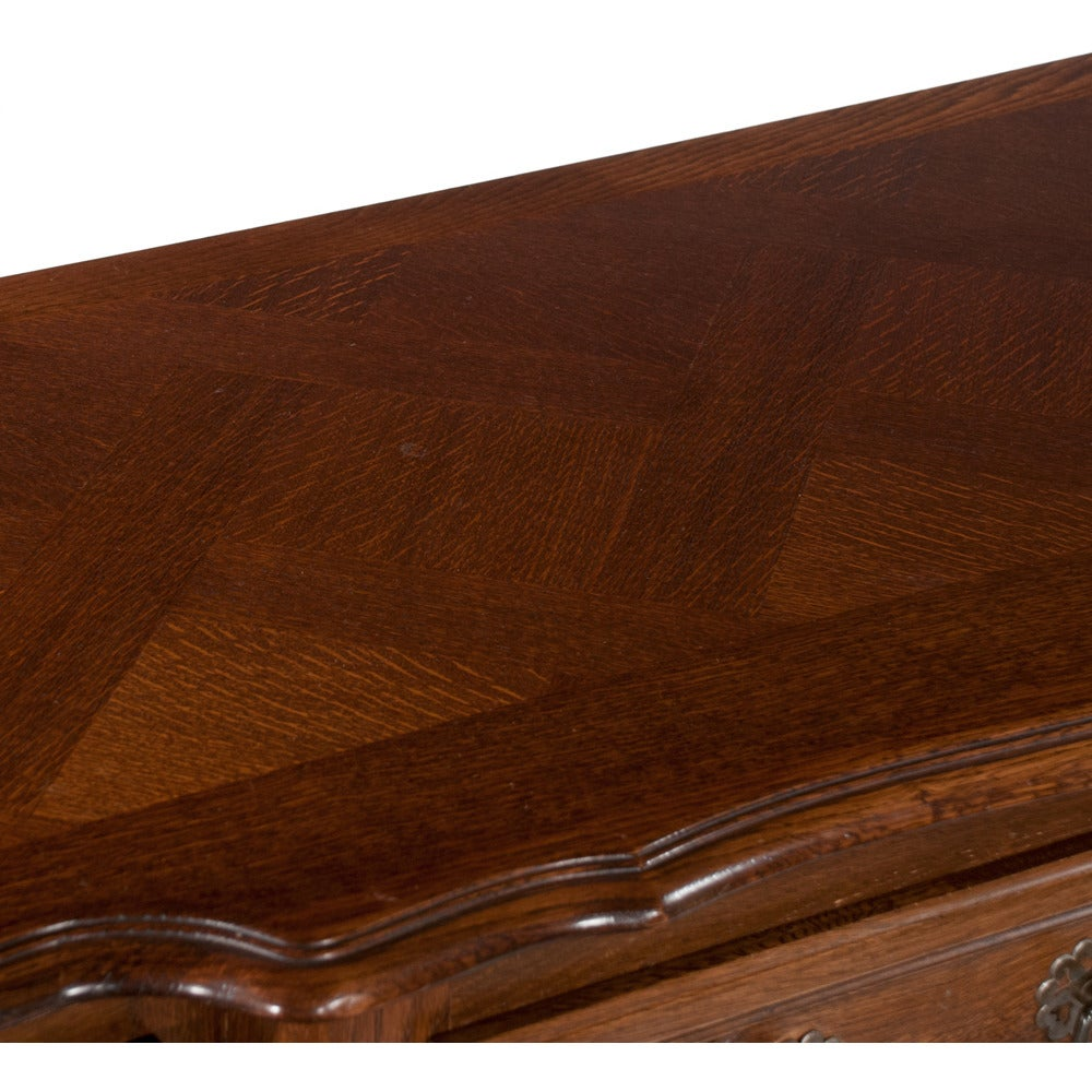 Country French Oak Buffet For Sale 5