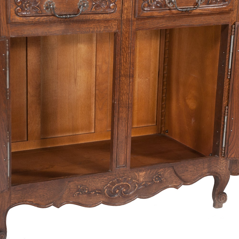 Country French Oak Buffet For Sale 3