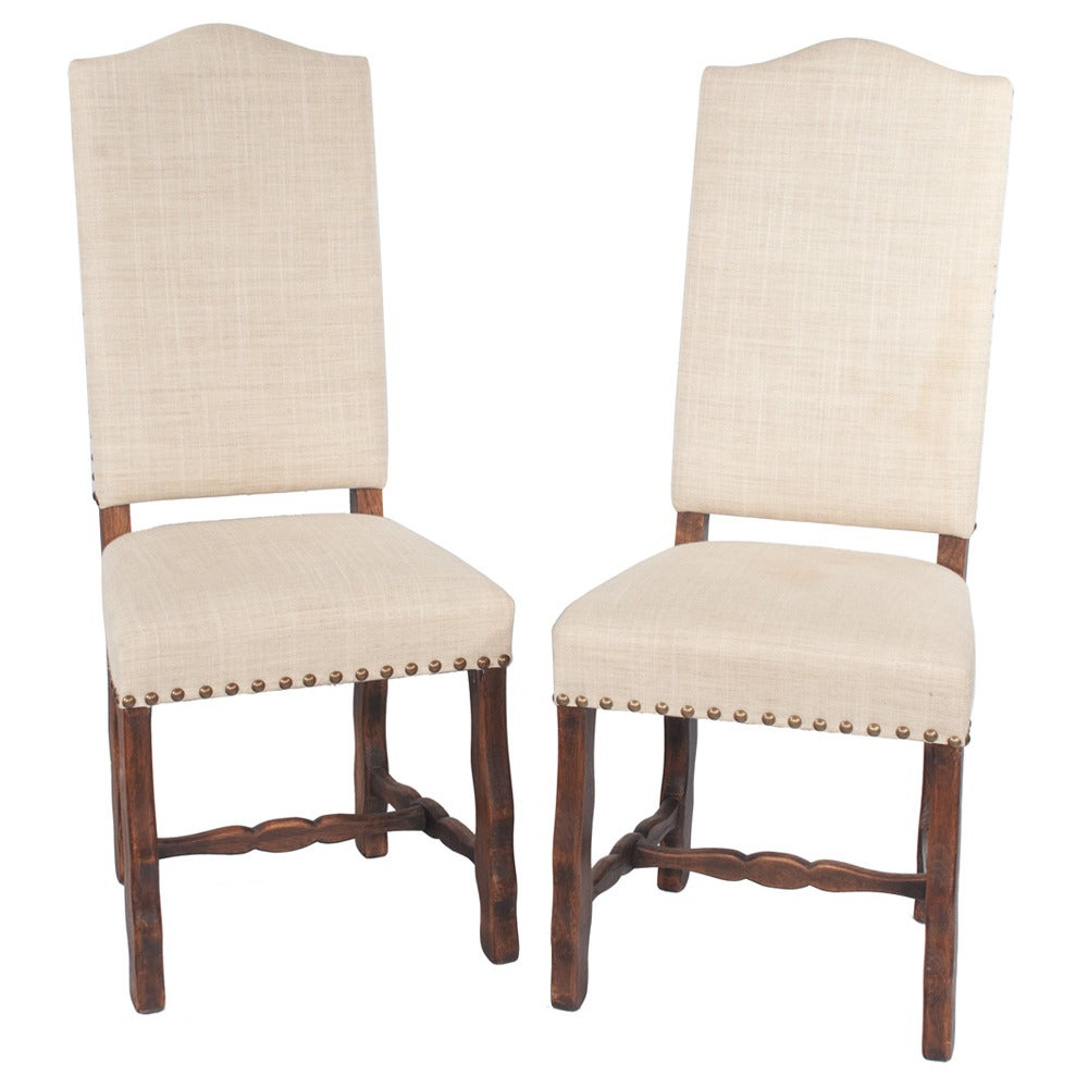 Country French Dining Chairs, S/6 In Good Condition For Sale In Lawrenceburg, TN