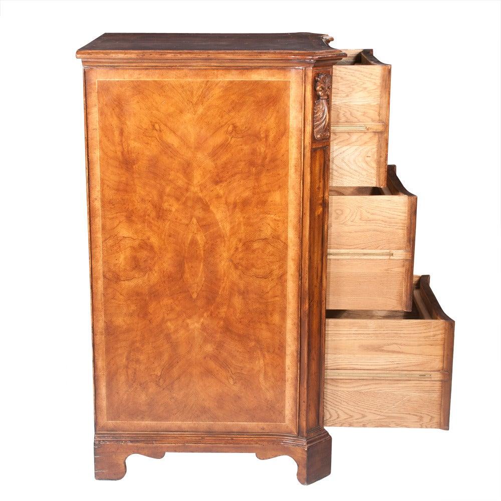 Walnut Filing Cabinet For Sale 2