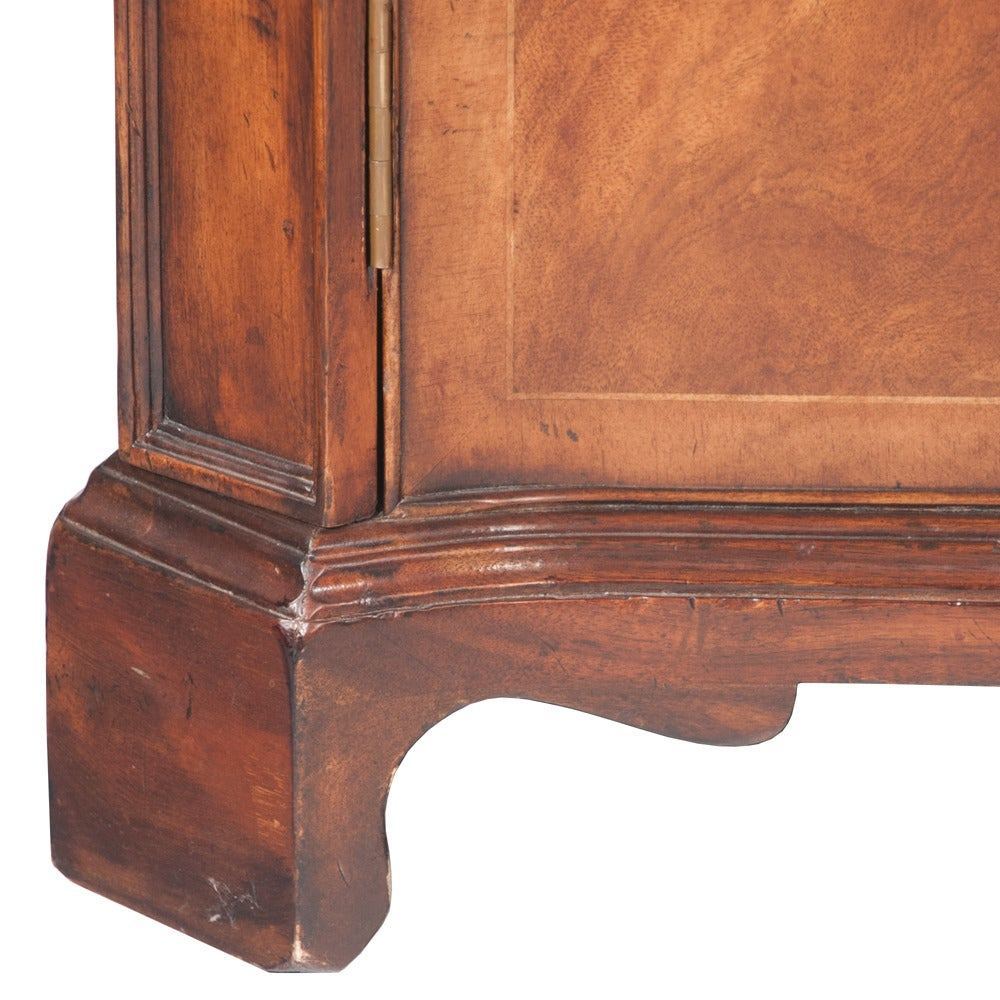 Mid-20th Century Walnut Filing Cabinet For Sale