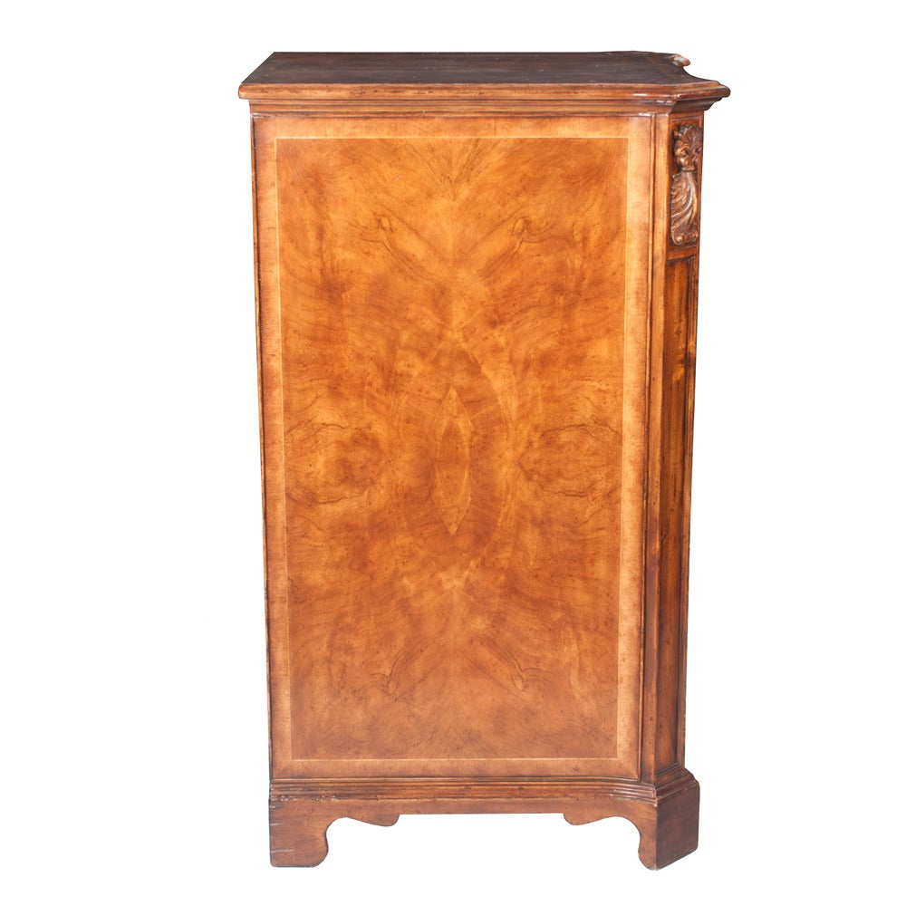 Walnut Filing Cabinet For Sale 1