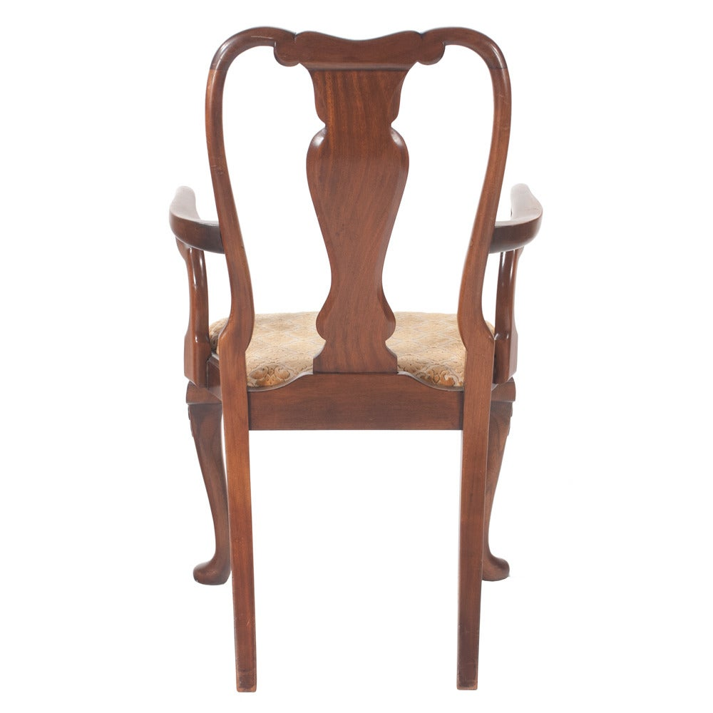 Queen Anne Dining Chairs kincaid furniture dining room queen anne ...
