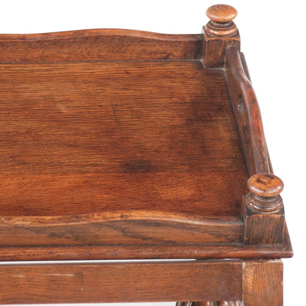 Jacobean-Style Tea Trolley For Sale 1
