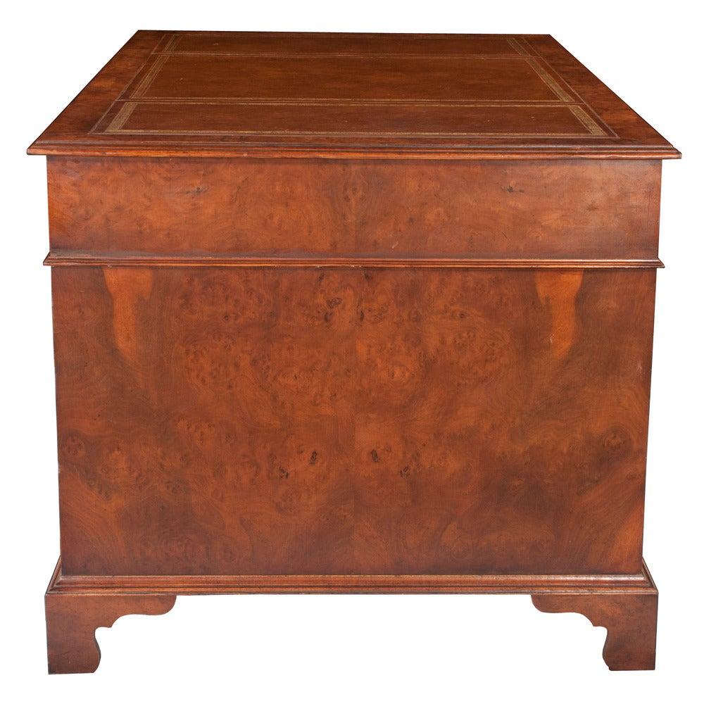 Chippendale Pedestal Desk 2