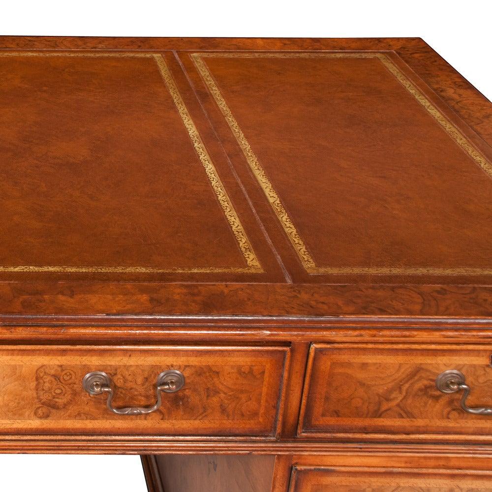 Chippendale Pedestal Desk 3