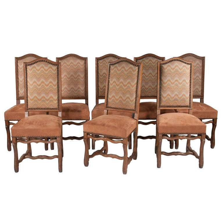 Country French Dining Chairs S 8 at 1stdibs