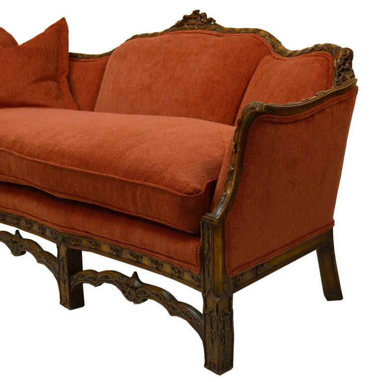 19th Century Chinese Chippendale Style Sofa At 1stdibs