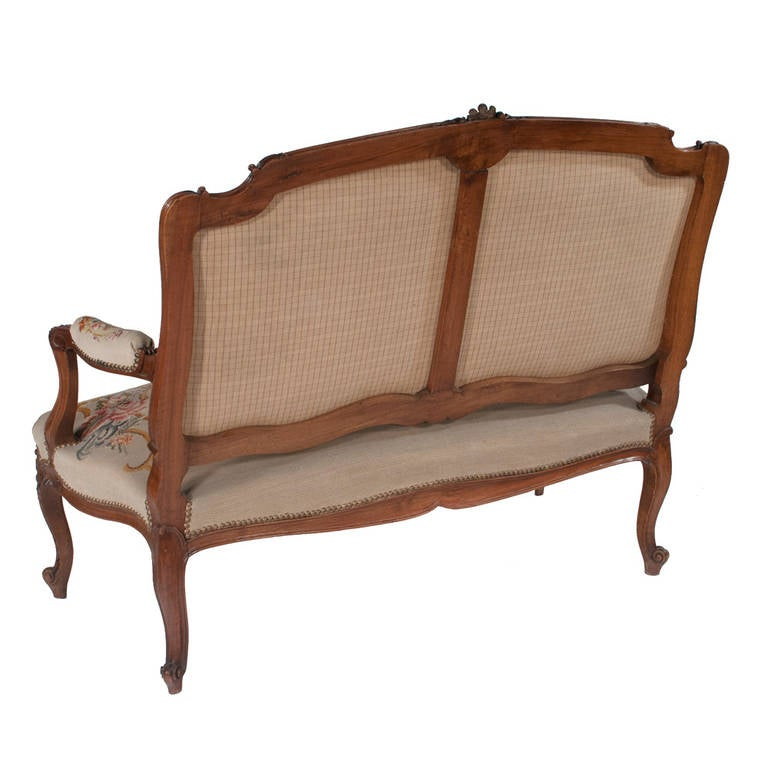 Louis xv style canap at 1stdibs for Canape style louis xv