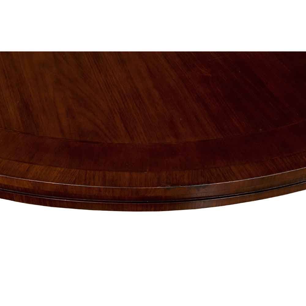 Wood English Regency Library Table For Sale