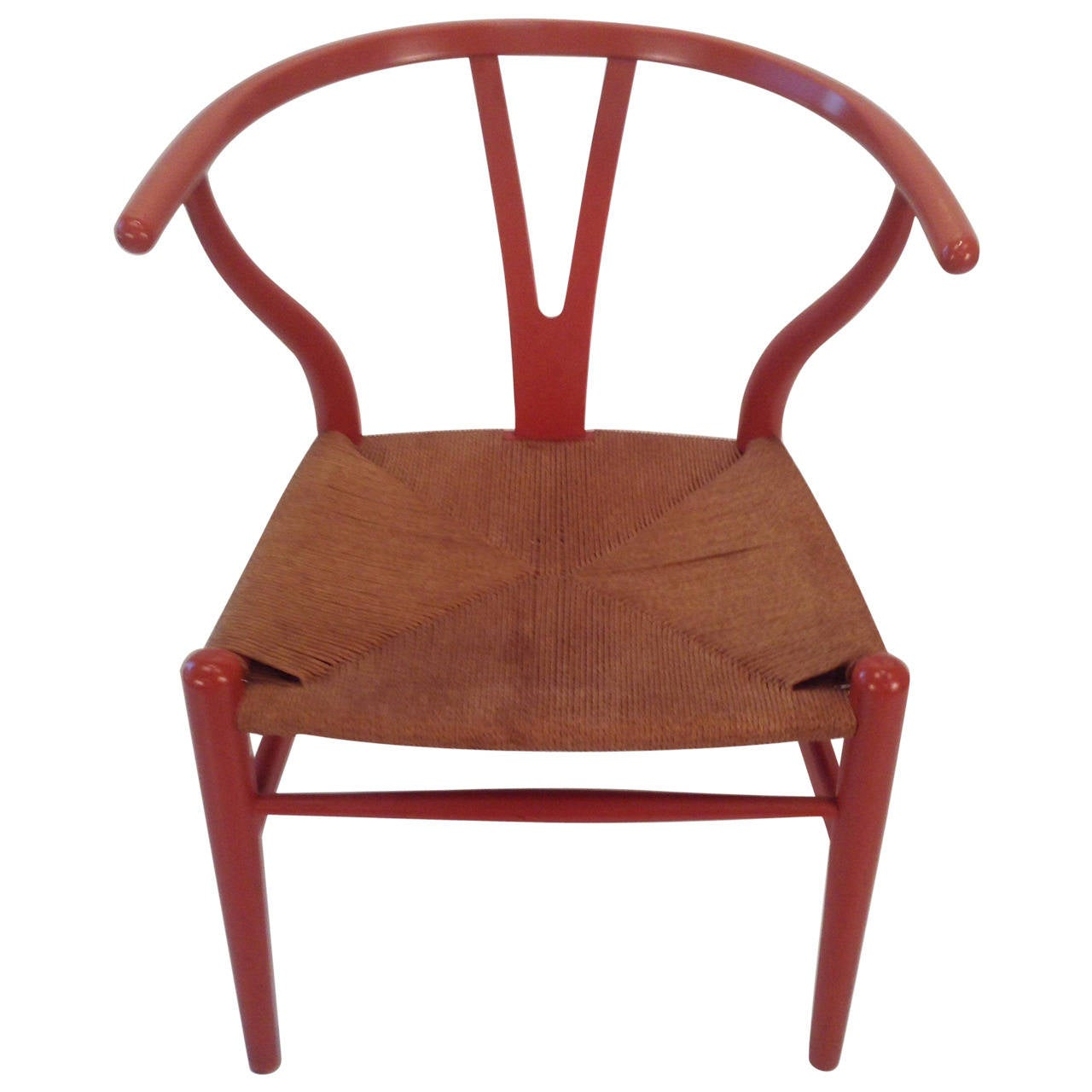 Early Original Hans Wegner Wishbone,,Y Chair,, Carl Hansen, Denmark