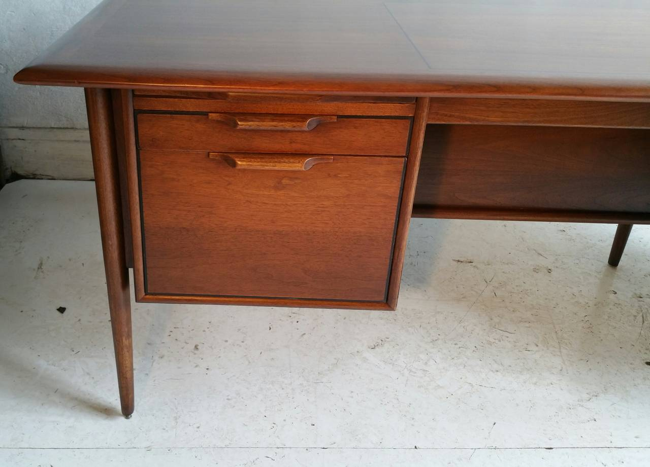 American Danish Executive Desk By Stow Davis In The Manner