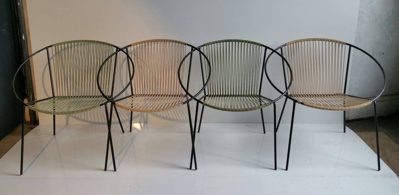 "Mid Century Modern Patio Furniture classic mid-century modern outdoor ""hoop"" chairssalterini at"
