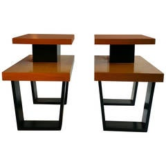 Paul Frankl Tiered Side or End Tables