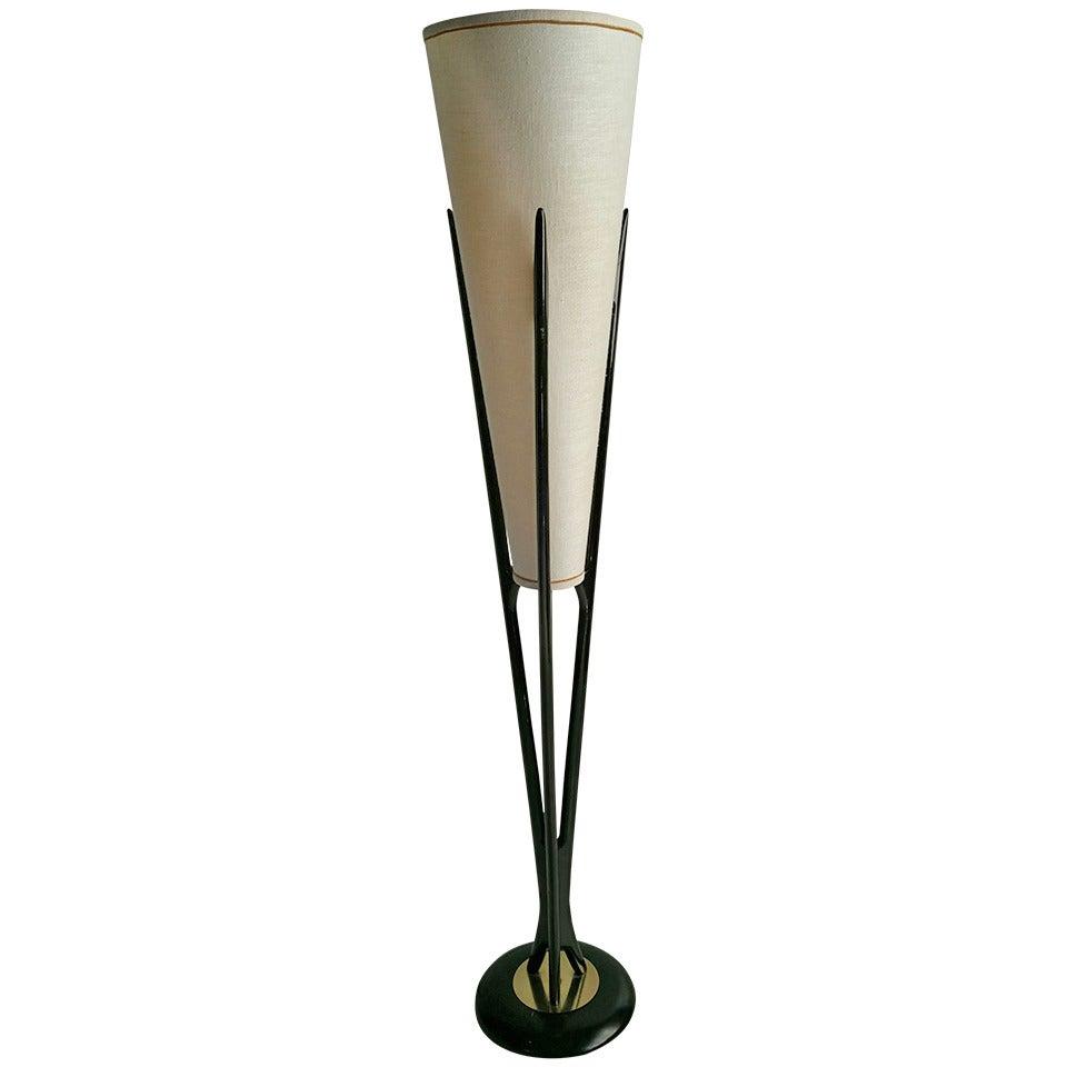 Mid Century Modern Cone Floor Lamp Classic Adrian