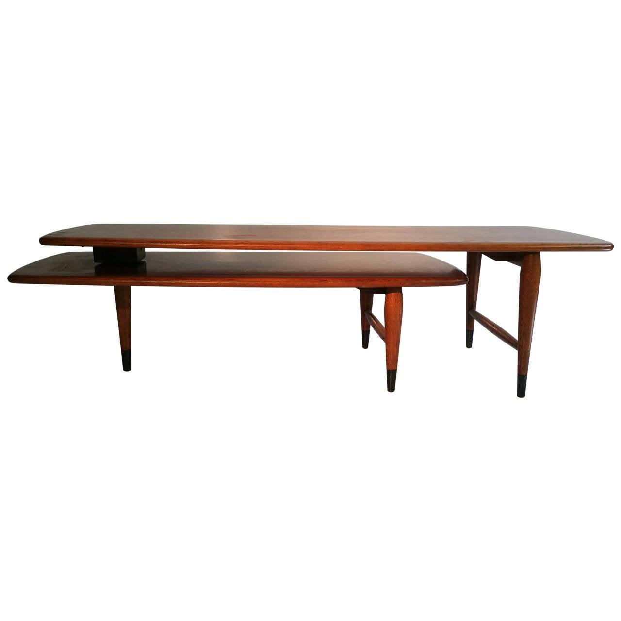 "Lane Switchblade Coffee Table: Mid-Century Modern ""Switchblade"" Coffee Table, Lane Acclaim"