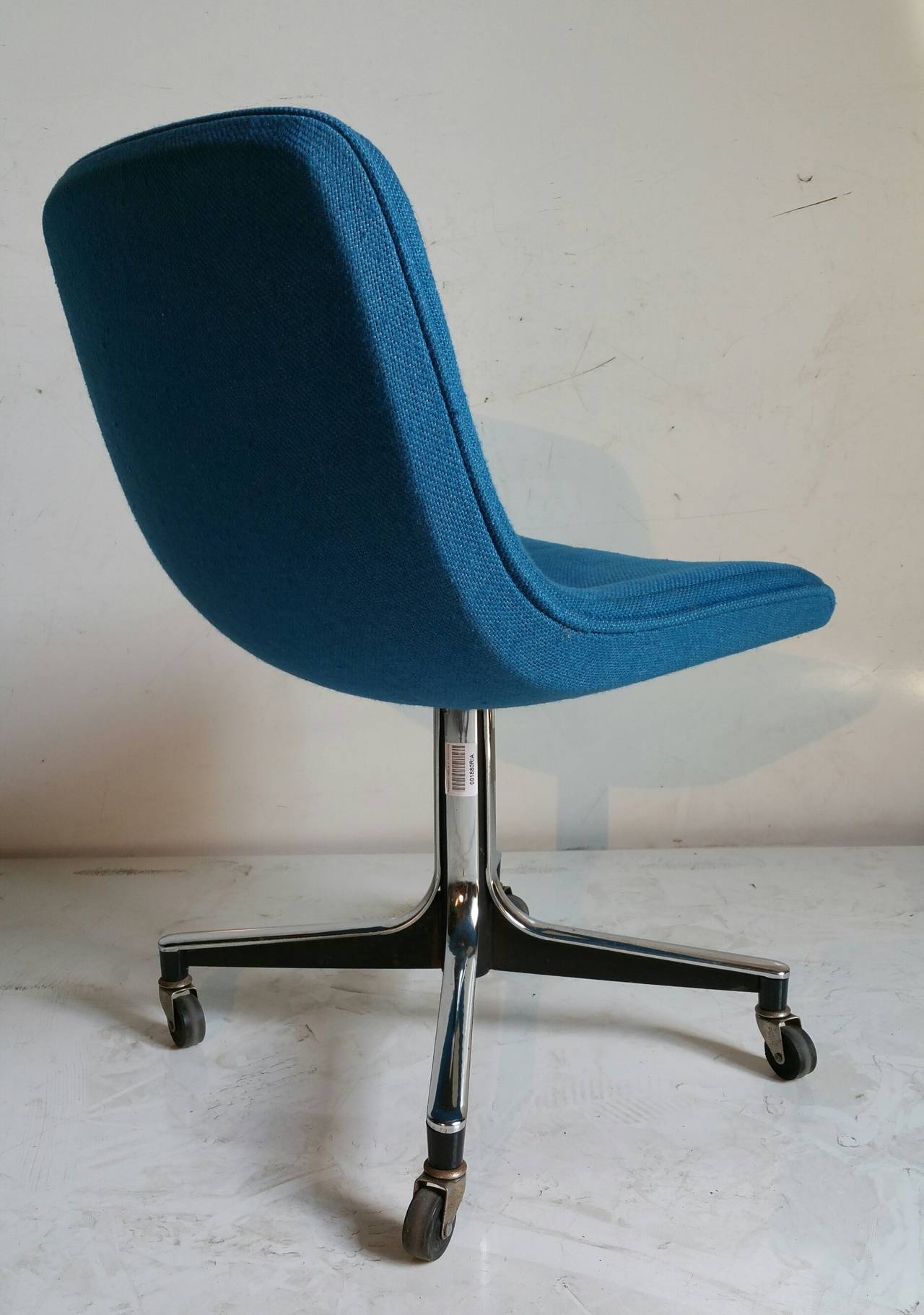 mid century chairs goodform rolling desk chair mid century modern at 1stdibs 29944