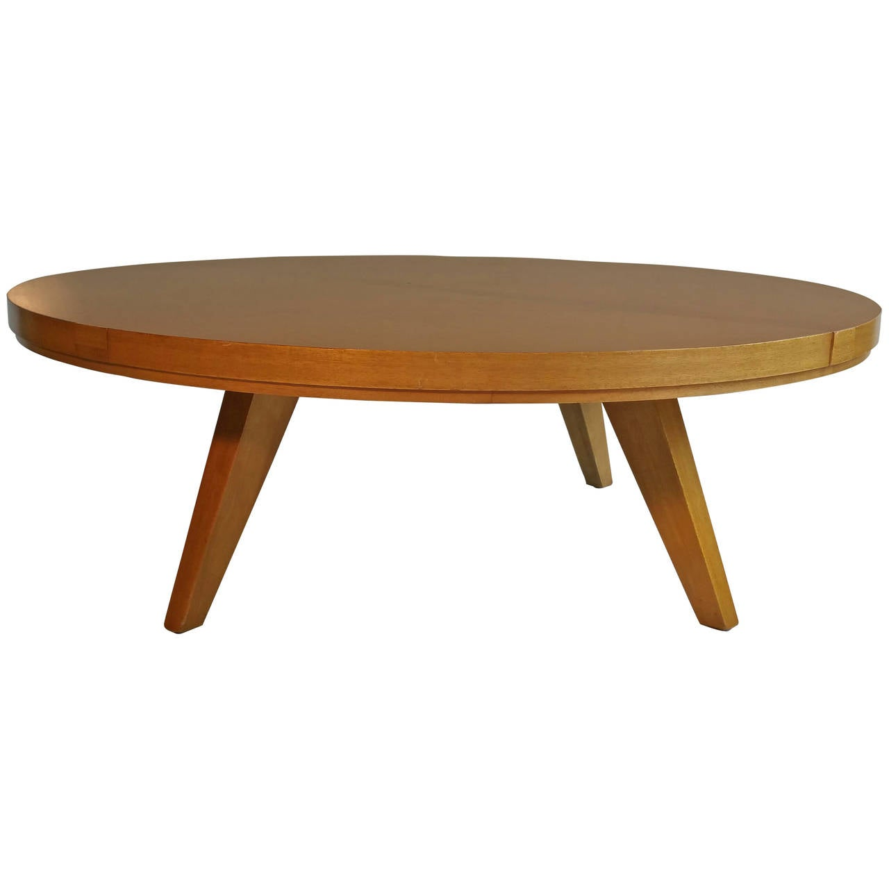 Classic mid century modern coffee table red lion for Red modern coffee table