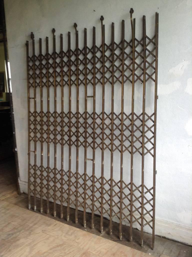 Brass Elevator Gate At 1stdibs
