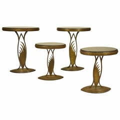 Rare Art Deco Store Display Stands or Tables, in the Manner of Edgar Brant