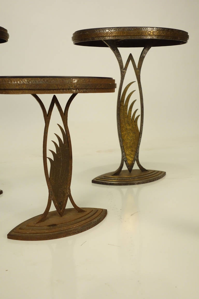 Rare Art Deco Store Display Stands Or Tables In The