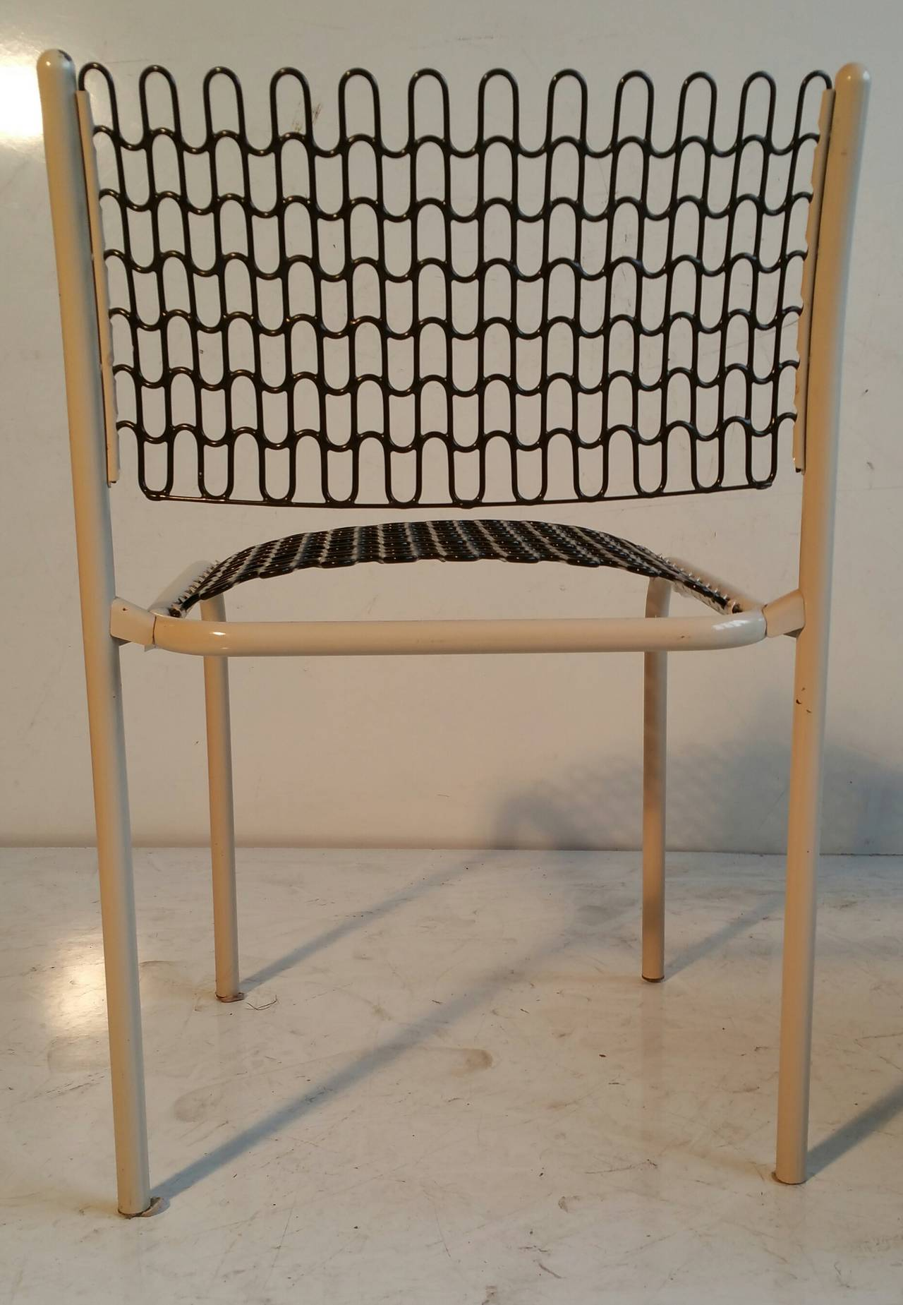 Mid-Century Modern Set of Six Thonet Sof-Tek Stacking Chairs by David Roland For Sale