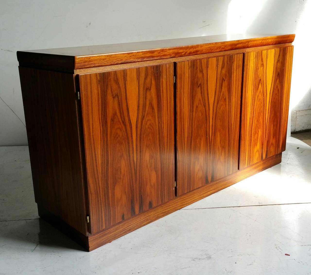 Mid-Century Modern Classic Rosewood Cabinet or Server, Made in Denmark For Sale