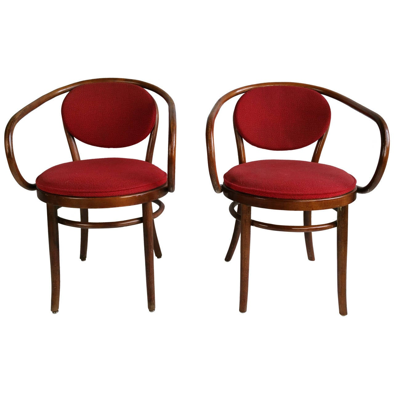 pair of classic thonet chairs august thonet weiner stuhl. Black Bedroom Furniture Sets. Home Design Ideas