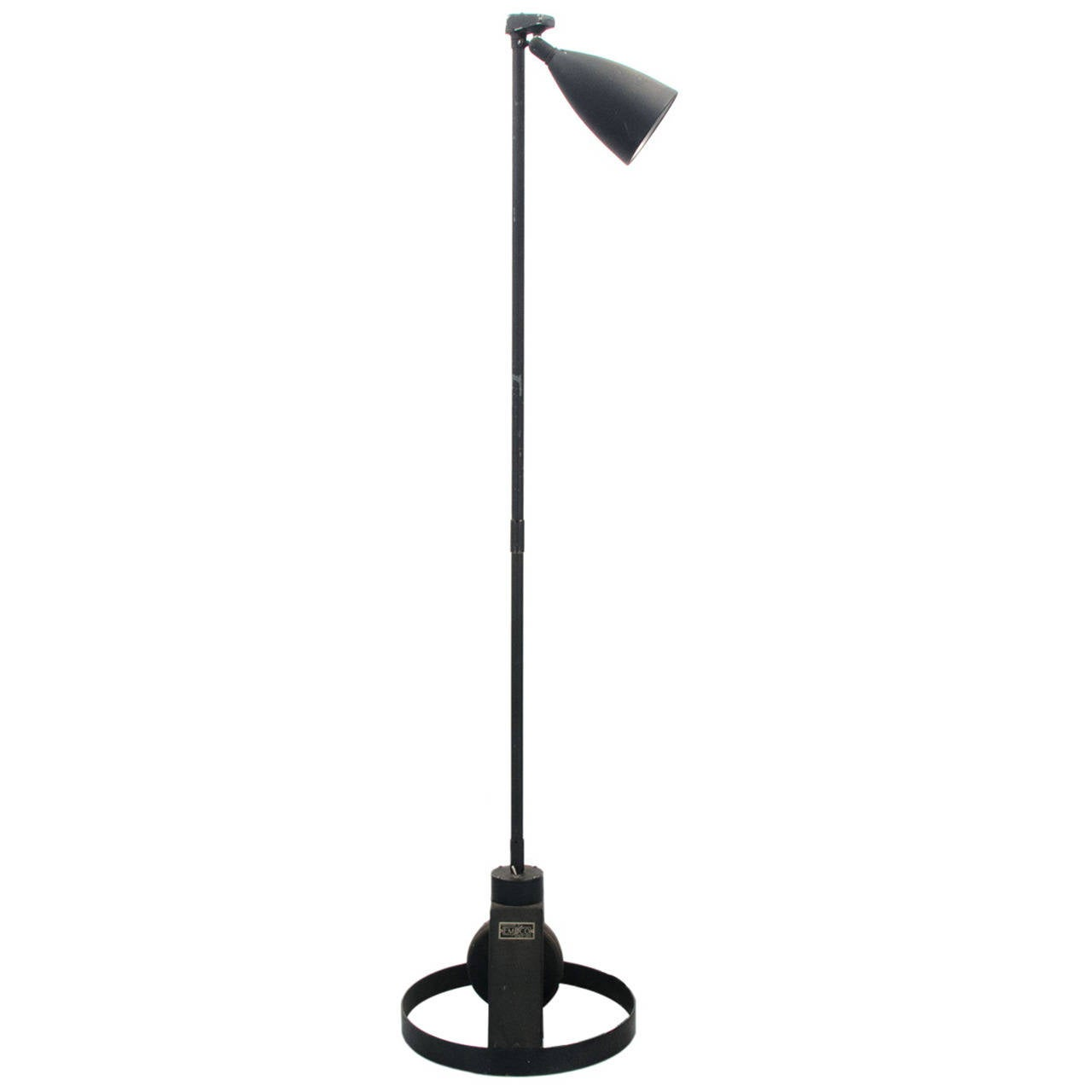 Minimalist Industrial Floor Lamp For Sale At 1stdibs