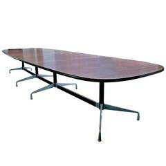 Monumental Eames Segmented Base Conference Table for Herman Miller