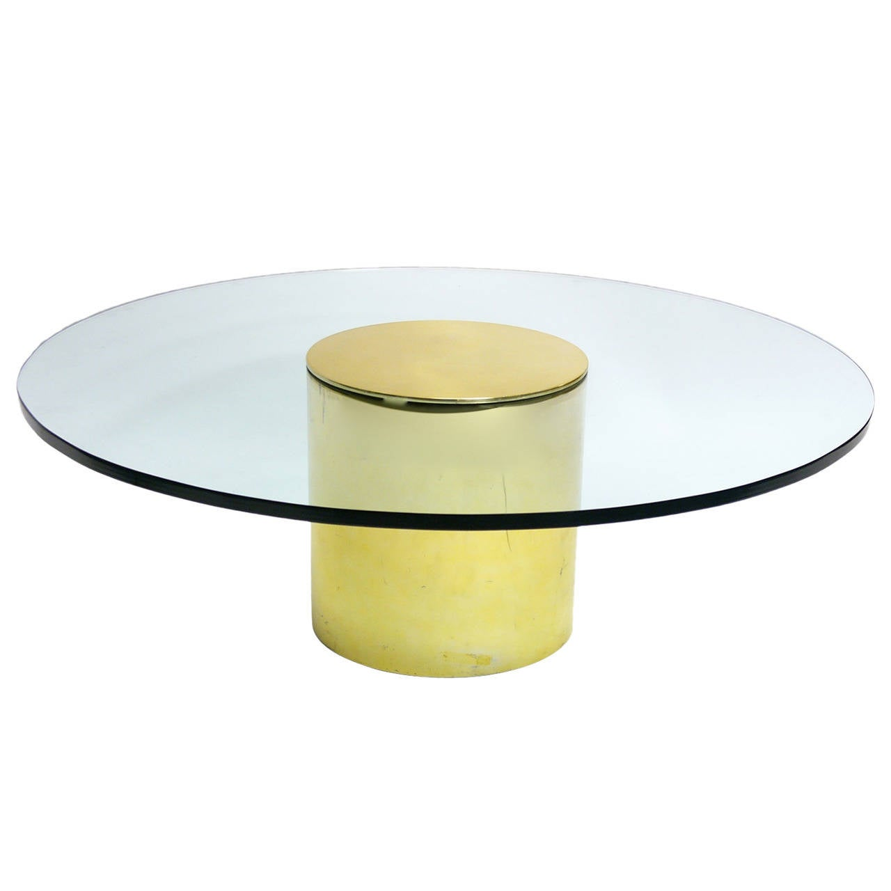 Paul mayen for habitat brass and glass coffee table at 1stdibs for Coffee tables habitat