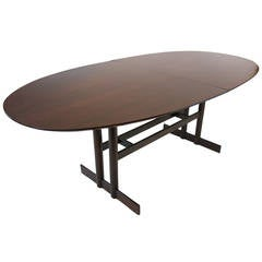 Jacaranda Oval Dining Table by L'Atelier Brazilian Rosewood