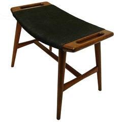 Hans Wegner Piano Stool or Music Bench