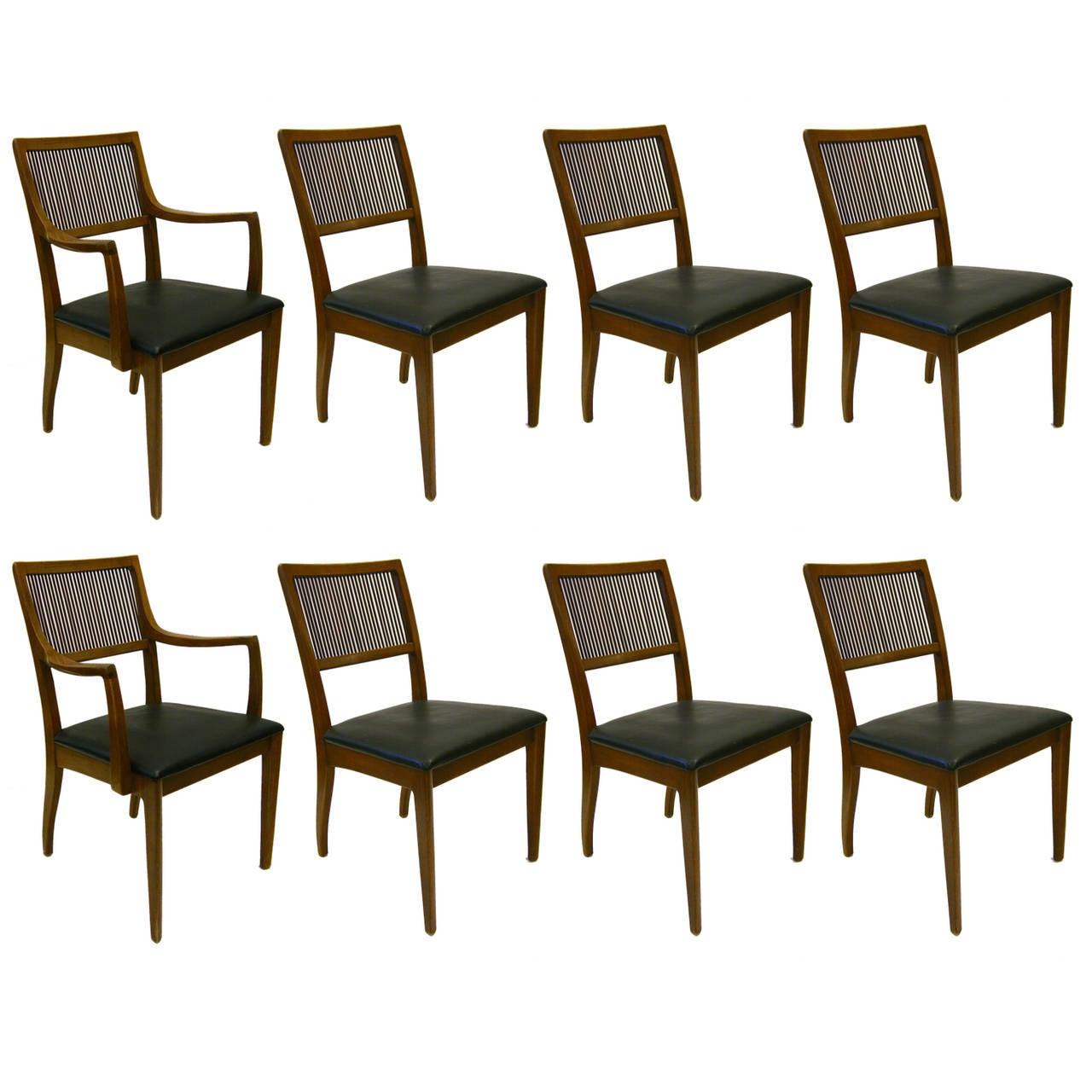 John Van Koert For Drexel Dining Room Set Of A Table With