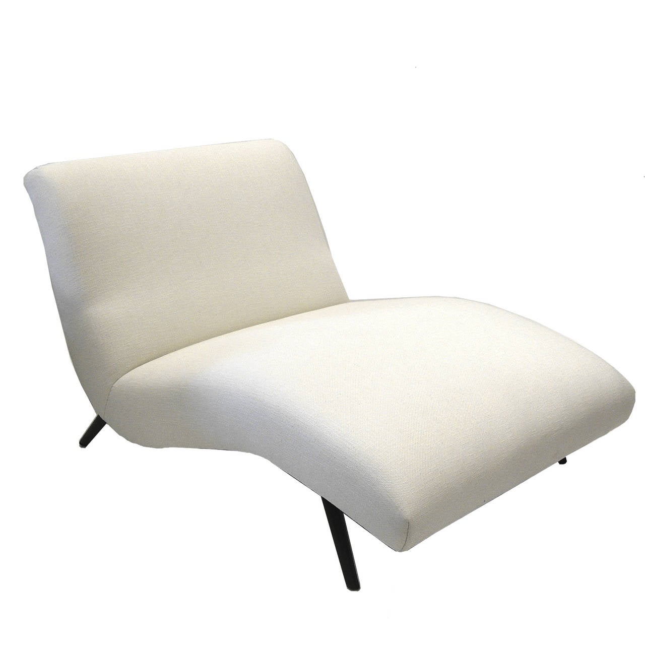 Stunning kagan style wave chaise longue at 1stdibs for Chaise longue wave