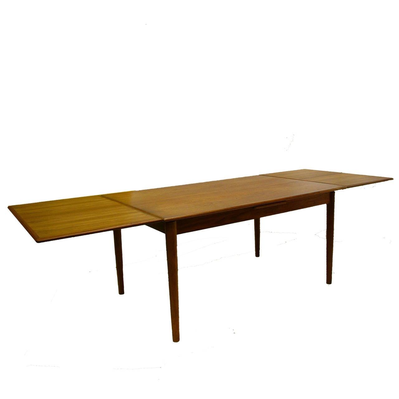 Teak Extension Dining Table