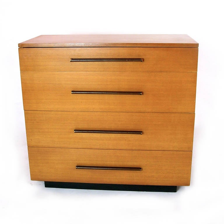 bedroom set furniture gilbert rohde for herman miller four drawer dresser at 1stdibs 10628