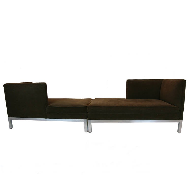 Charter brown jordan tete a tete pair of chaise lounges for Brown jordan chaise