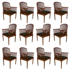 "Stunning Davis Allen for Knoll ""Exeter"" Spindle Dining or Office Chairs"