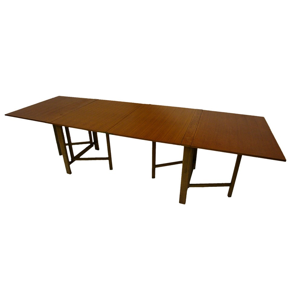 Bruno Mathsson Style Maria Drop Leaf Dining Table at 1stdibs : 1348402 1 from 1stdibs.com size 960 x 960 jpeg 40kB
