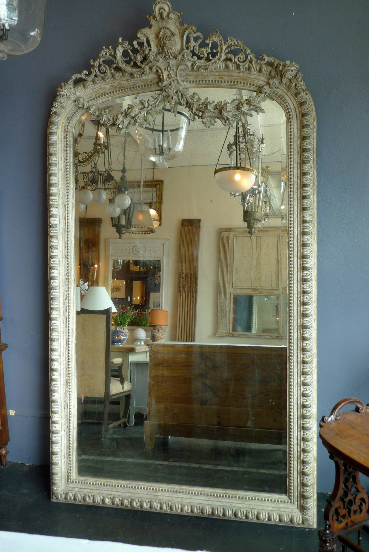 how to say the mirror in french