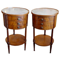 Two French 1920s Nightstands
